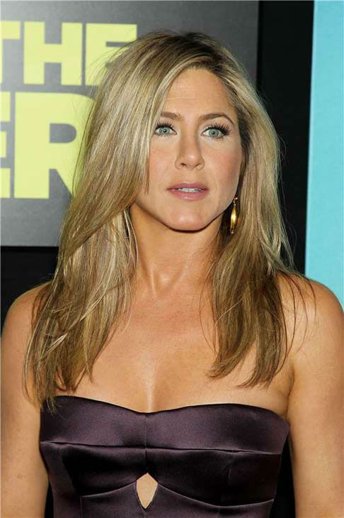 Jennifer Aniston appears at the premiere of 'We're the Millers' in New York City on Aug. 1, 2013.