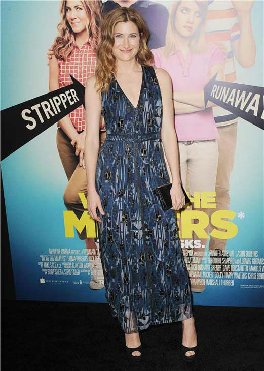 Kathryn Hahn appears at the premiere of 'We're the Millers' in New York City on Aug. 1, 2013.