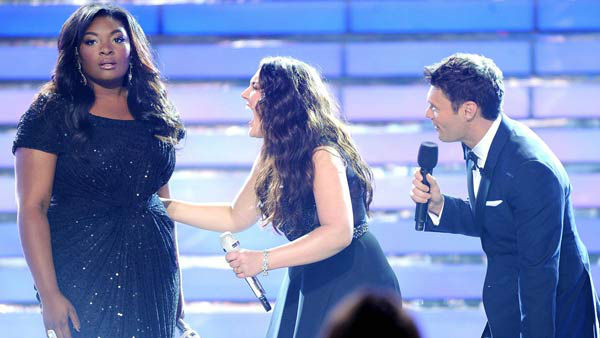 "<div class=""meta image-caption""><div class=""origin-logo origin-image ""><span></span></div><span class=""caption-text"">Candice Glover was named the season 12 winner of 'American Idol,' the first female to win the title since season 6 winner Jordin Sparks.  With three new judges at on the panel, including Mariah Carey, Keith Urban and Nicki Minaj, Glover impressed both judges and audiences alike throughout the season for her soulful voice and song choices. Upon winning the title, Glover said to reporters, 'I don't remember [Ryan Seacrest] saying my name. I do remember confetti getting in my mouth while I was singing and stuff. I wanted to laugh but I was crying and it was just so much happening at the one moment but it felt great.'  Glover released her first single, 'I Am Beautiful,' following her 'Idol' win and her debut album, 'Music Speaks,' is expected to be released in fall 2013.  (Pictured: Candice Glover is crowned the season 12 winner of 'American Idol' alongside runner-up Kree Harrison and host Ryan Seacrest.) (Ray Mickshaw/ FOX)</span></div>"