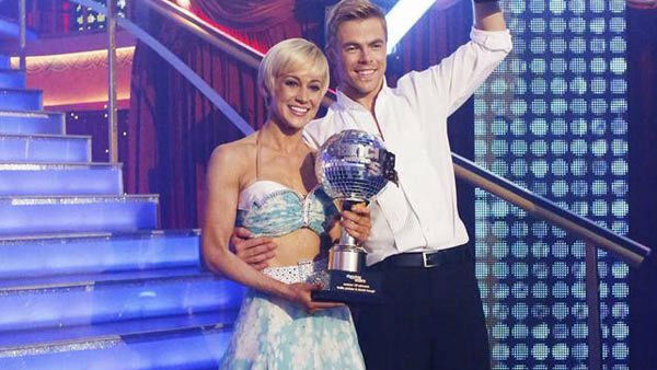 Kellie Pickler and professional dancer Derek Hough were crowned 'Dancing