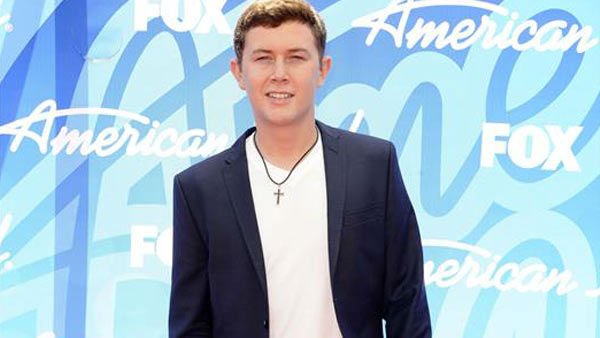 Scotty McCreery at the 'Amer