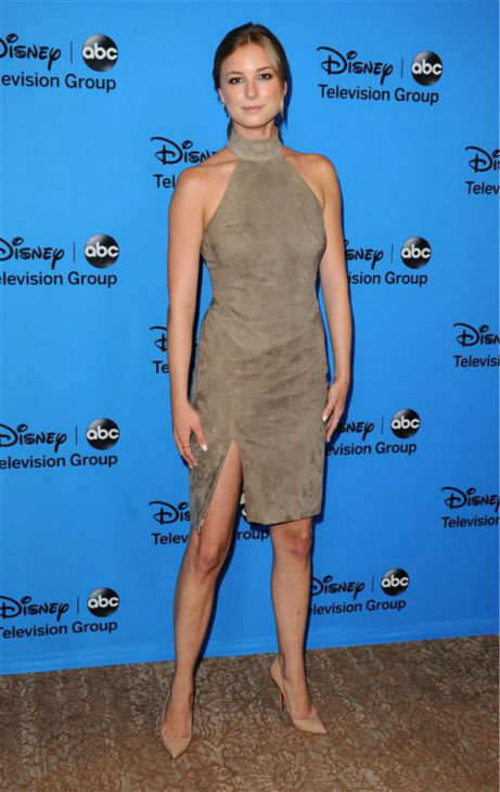 Emily VanCamp appears at ABC&#39;s TCA Press Tour event at the Beverly Hilton hotel in Beverly Hills, California on Aug. 4, 2013. She plays Emily on the network&#39;s hit show &#39;Revenge.&#39;  <span class=meta>(Sara De Boer &#47; Startraksphoto.com)</span>