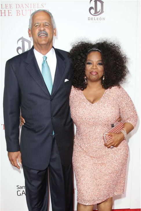 Oprah Winfrey and longtime partner Stedman Graham appear at the premiere of Lee Daniels&#39; &#39;The Butler In New York on Aug. 5, 2013. They began dating in the mid-1980s. <span class=meta>(Kristina Bumphrey &#47; Startraksphoto.com)</span>