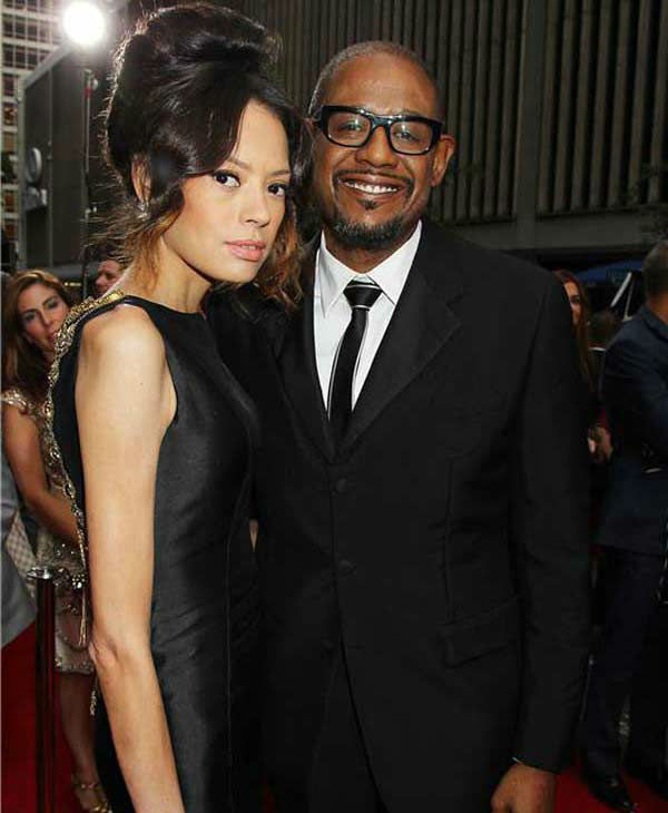 "<div class=""meta ""><span class=""caption-text "">Forest Whitaker and wife Keisha Whitaker pose together at the New York premiere of 'Lee Daniels' The Butler' on Aug. 5, 2013. (Dave Allocca/ startraksphoto.com)</span></div>"
