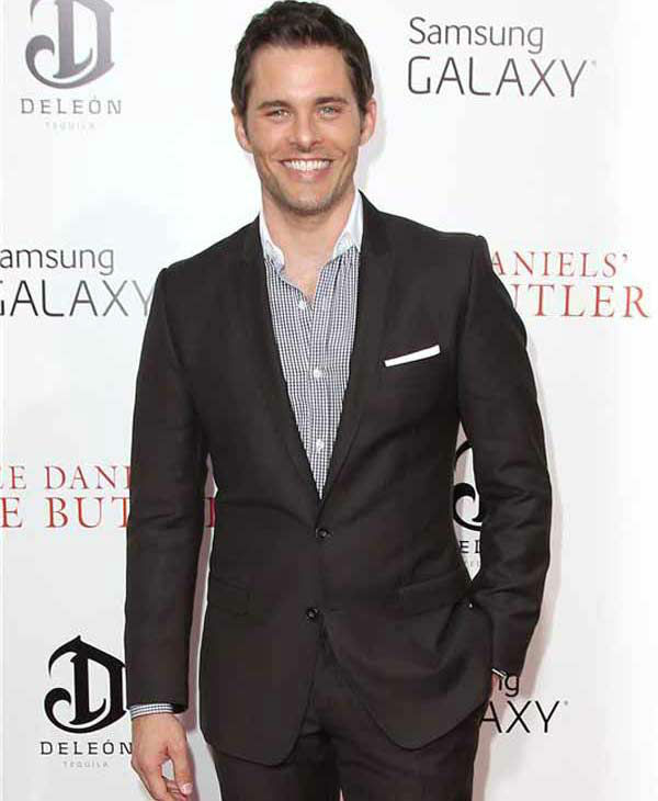 "<div class=""meta image-caption""><div class=""origin-logo origin-image ""><span></span></div><span class=""caption-text"">James Marsden rocks a casual suit look at the New York premiere of 'Lee Daniels' The Butler' on Aug. 5, 2013. (Kristina Bumphrey/ startraksphoto.com)</span></div>"