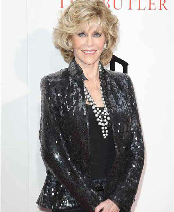 Jane Fonda strikes a smile for photographers at the New York premiere of 'Lee Daniels' The Butler' on Aug. 5, 2013.