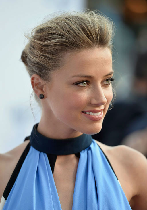 Amber Heard attends the premiere of 'Paranoia' at DGA Theater on Aug. 8, 2013 in Los Angeles, California.