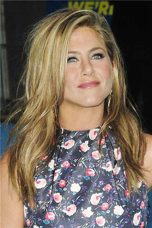 Jennifer Aniston appears at the London premiere of 'We're the Millers' on Aug. 14, 2013.
