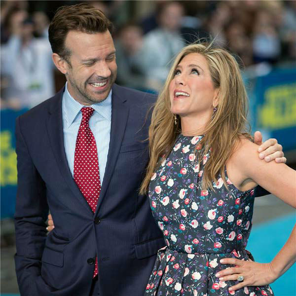 Jennifer Aniston and Jason Sudeikis appear at the London premiere of &#39;We&#39;re the Millers&#39; on Aug. 14, 2013. <span class=meta>(Alessio Fiori&#47;startraksphoto.com)</span>