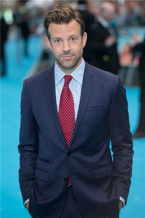 Jason Sudeikis appears at the London premiere of 'We're the Millers' on Aug. 14, 2013.