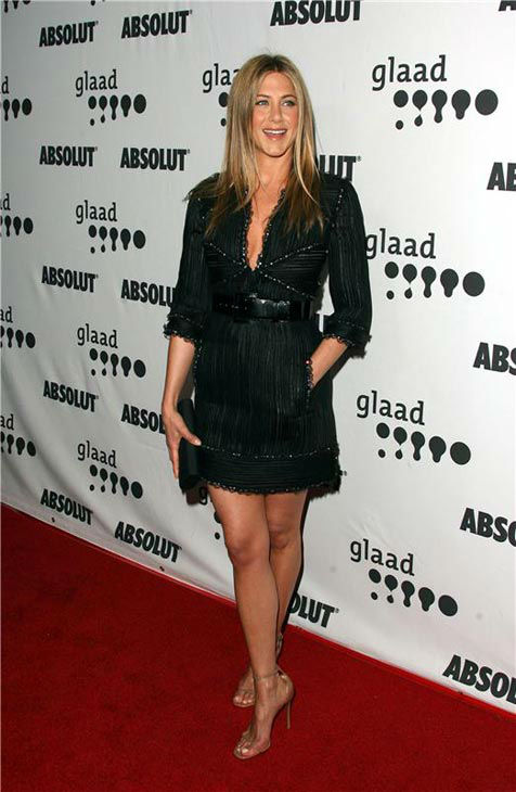 "<div class=""meta ""><span class=""caption-text "">Jennifer Aniston appears at the 18th Annual GLAAD Media Awards on April 14, 2007.  (Jen Lowery/Startraksphoto.com)</span></div>"