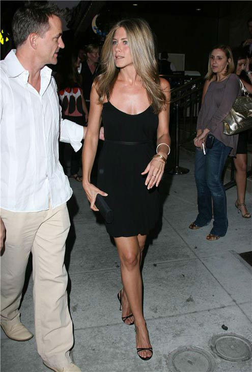 Jennifer Aniston appears at the opening of One Sunset in Los Angeles on June 19, 2007. <span class=meta>(Jen Lowery&#47;Startraksphoto.com)</span>