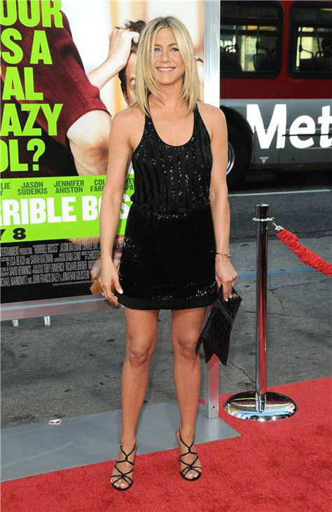 Jennifer Aniston appears at the &#39;Horrible Bosses&#39; Los Angeles premiere on June 30, 2011. <span class=meta>(Sara De Boer&#47;startraksphoto.com)</span>