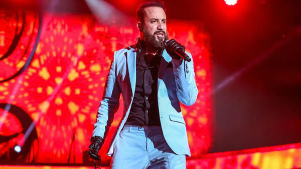 AJ McLean performs with the Backstreet Boys on their &#39;In a World Like This Tour&#39; in Raleigh, North Carolina. <span class=meta>(Andy Martin Jr. &#47; startraksphoto.com)</span>