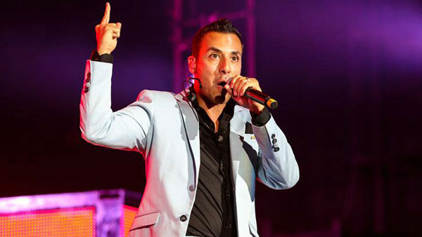 Howie Dorough performs with the Backstreet Boys on their 'In a World Like This Tour' in Raleigh, North Carolina.