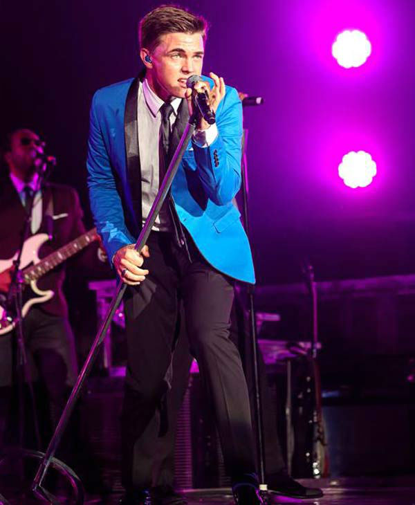 Jesse McCartney opens for the Backstreet Boys on their 'In a World Like This Tour' in Raleigh, North Carolina.