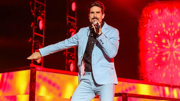 Kevin Richardson performs with the Backstreet Boys on their 'In a World Like This Tour' in Raleigh, North Carolina.