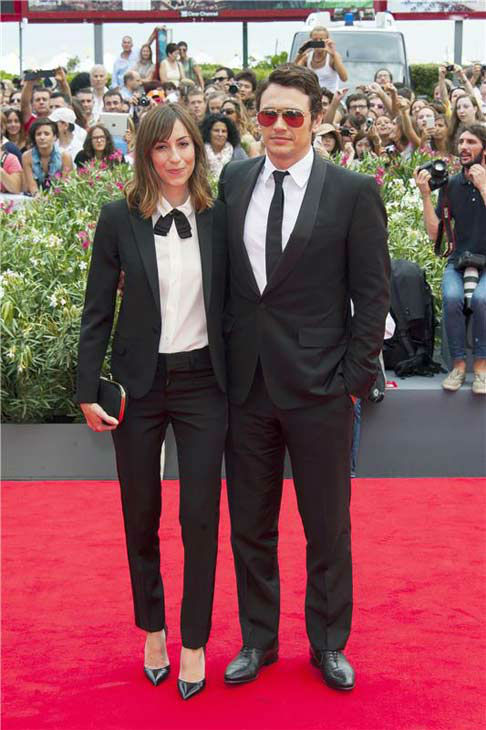Gia Coppola and James Franco appear at the 'Palo Alto' premiere during 70th Venice Film Festival on Sept. 1, 2013.