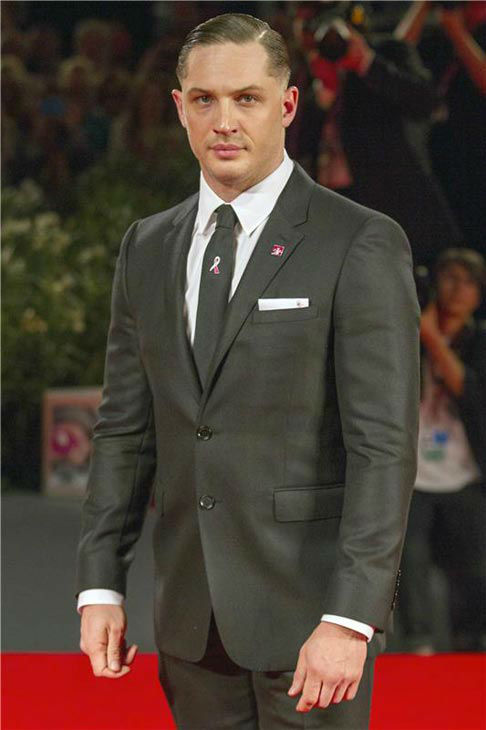 Tom Hardy appears at the premiere of 'The Zero Theorem' during the 70th Venice Film Festival at Palazzo del Cinema on Sept. 2, 2013.