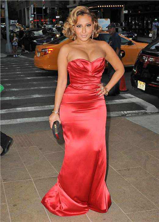 "<div class=""meta ""><span class=""caption-text "">Adrienne Bailon appears at the 10th Annual Style Awards Kick Off during Mercedes-Benz Fashion Week in New York City on Sept. 4, 2013. (HUMBERTO CARRENO/startraksphoto.com)</span></div>"