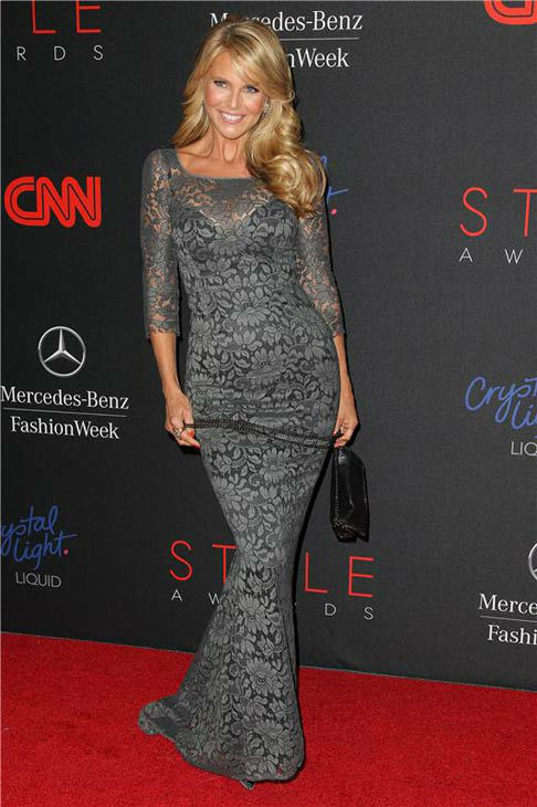"<div class=""meta ""><span class=""caption-text "">Christie Brinkley appears at the 10th Annual Style Awards Kick Off during Mercedes-Benz Fashion Week in New York City on Sept. 4, 2013.  (Amanda Schwab/Startraksphoto.com)</span></div>"