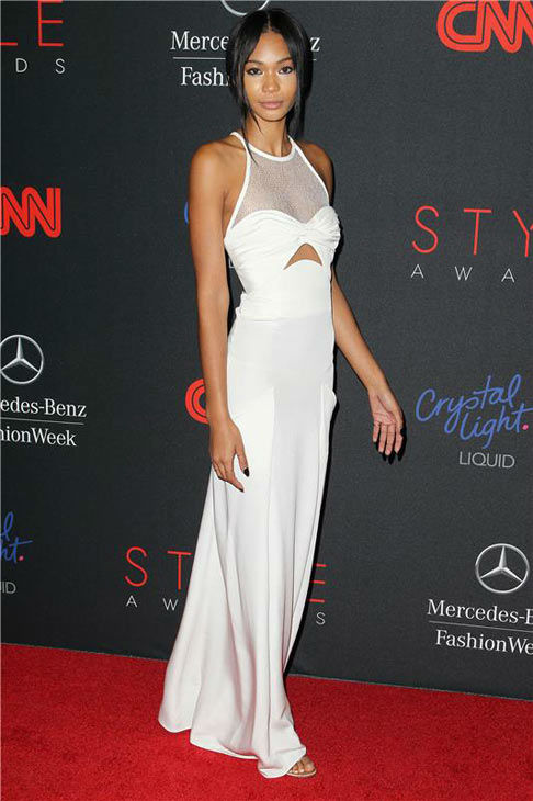 Chanel Iman appears at the 10th Annual Style Awards Kick Off during Mercedes-Benz Fashion Week in New York City on Sept. 4, 2013. <span class=meta>(Amanda Schwab&#47;Startraksphoto.com)</span>
