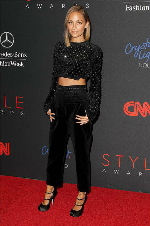 "<div class=""meta ""><span class=""caption-text "">Nicole Richie appears at the 10th Annual Style Awards Kick Off during Mercedes-Benz Fashion Week in New York City on Sept. 4, 2013. (Amanda Schwab/Startraksphoto.com)</span></div>"