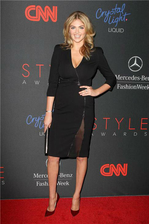 Kate Upton appears at the 10th Annual Style Awards Kick Off during Mercedes-Benz Fashion Week in New York City on Sept. 4, 2013. <span class=meta>(Amanda Schwab&#47;Startraksphoto.com)</span>