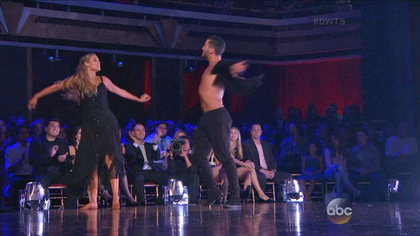 "<div class=""meta image-caption""><div class=""origin-logo origin-image ""><span></span></div><span class=""caption-text"">Elizabeth Berkley and Val Chmerkovskiy dance the Contemporary on week one of 'Dancing With The Stars' on Sept. 16, 2013. They received 24 out of 30 points from the judges.Corbin Bleu and Karina Smirnoff appear in a still from 'Dancing With The Stars: All-Stars' on Sept. 16, 2012. (ABC Photo)</span></div>"