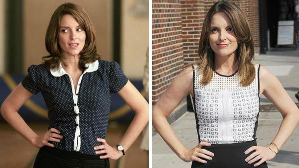"""<div class=""""meta image-caption""""><div class=""""origin-logo origin-image """"><span></span></div><span class=""""caption-text"""">Tina Fey, who wrote the screenplay for 'Mean Girls,' starred as Ms. Sharon Norbury in the film, Cady Heron (Lindsay Lohan) and Aaron Samuels' (Jonathan Bennett) math teacher. Ms. Norbury initially saw a lot of potential in Cady to do great things as a member of the 'Mathletes,' but was disheartened to learn that Cady would be one of the girls responsible for what was said about her in the 'Burn Book.' Fey, who was a regular cast member on the NBC series 'Saturday Night Live' during the filming of 'Mean Girls,' has gone onto be one of the most successful comedic actresses and writers in Hollywood. She spent seven seasons as Liz Lemon on the popular NBC sitcom '30 Rock' and has starred in hit films such as 'Baby Mama' and 'Date Night.' (Pictured: Left -- Tina Fey appears in a scene from 'Mean Girls.' Right -- Tina Fey appears at a taping of the 'Late Show with David Letterman' in New York City on Aug. 21, 2013.)  (Paramount Pictures / Humberto Carreno / startraksphoto.com)</span></div>"""