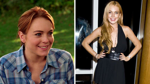 Lindsay Lohan portrayed 16-year-old homeschooled student Cady Heron in &#39;Mean Girls,&#39; what many critics consider to be her breakout film role. Cady  transfers to North Shore High School in Illinois, where she befriends two misfits, Janis and Damien, and together plot against the school&#39;s most exclusive clique, &#39;The Plastics.&#39;  Lohan&#39;s tumultuous personal and legal troubles have often overshadowed her once-promising film career. The actress has served five stints in jail and recently completed her sixth stint in rehab. Her film credits include &#39;The Parent Trap,&#39; &#39;Freaky Friday,&#39; &#39;Georgia Rule,&#39; &#39;The Canyons&#39; and the Lifetime original movie &#39;Liz and Dick.&#39;In March 2014, the Oprah Winfrey Network &#40;OWN&#41; began airing the reality series &#39;Lindsay,&#39; which documented Lohan&#39;s journey to rebuilding her life and career following her most recent rehab stint. &#40;Pictured: Left -- Lindsay Lohan appears in a scene from &#39;Mean Girls.&#39; Right -- Lindsay Lohan appears at a party for the September 2013 issue of Purple Magazine in New York City on Sept. 11, 2013.&#41;  <span class=meta>(Paramount Pictures &#47; Justin Campbell &#47; startraksphoto.com)</span>