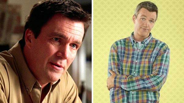Neil Flynn portrayed Cady Heron&#39;s &#40;Lindsay Lohan&#41; father, Chip Heron, in &#39;Mean Girls.&#39; Chip found it difficult to come to grips with Cady&#39;s actions following Regina George &#40;Rachel McAdams&#41; being hit by a bus and Cady being blamed for it all.  Flynn is best known for his role as the janitor on the hit series &#39;Scrubs&#39; and currently stars on the ABC sitcom &#39;The Middle,&#39; alongside Patricia Heaton.  &#40;Pictured: Left -- Neil Flynn appears in a scene from &#39;Mean Girls.&#39; Right -- Neil Flynn appears in a promotional photo for the ABC series &#39;The Middle&#39; dated Sept. 12, 2013.&#41;  <span class=meta>(Paramount Pictures &#47; Bob D&#39;Amico &#47; ABC)</span>