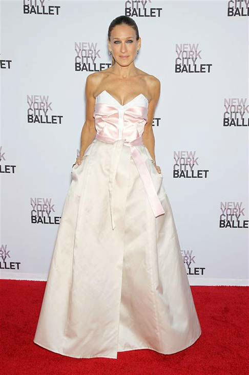 "<div class=""meta ""><span class=""caption-text "">Sarah Jessica Parker appears at the New York City Ballet 2013 Fall Gala on Sept. 19, 2013.  (Marion Curtis / startraksphoto.com)</span></div>"