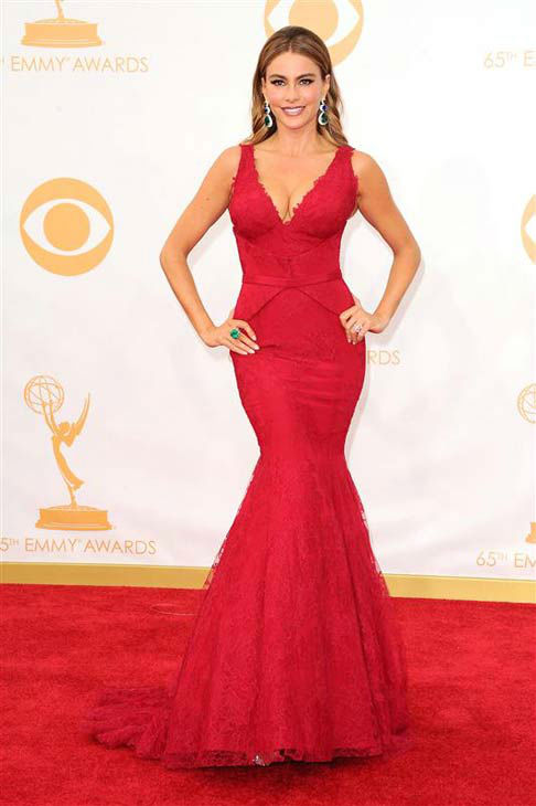 Sofia Vergara appears at the 65th annual Primetime Emmy Awards in Los Angeles, California on Sept. 22, 2013.  <span class=meta>(Kyle Rover &#47; startraksphoto.com)</span>