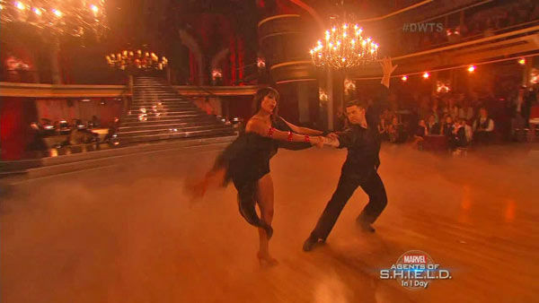 Jack Osbourne and Cheryl Burke dance the Rumba on week two of &#39;Dancing With The Stars&#39; on Sept. 23, 2013. They received 24 out of 30 points from the judges. <span class=meta>(ABC Photo)</span>