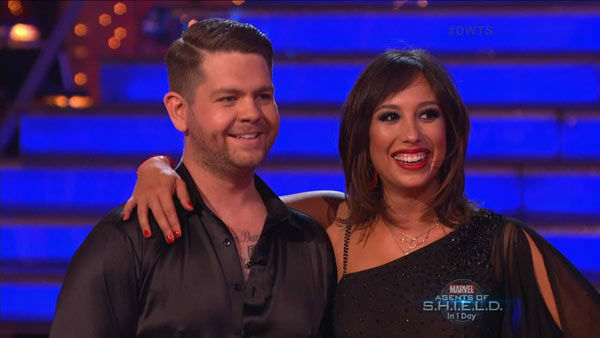 Jack Osbourne and Cheryl Burke danced the Rumba on week two of &#39;Dancing With The Stars&#39; on Sept. 23, 2013. They received 24 out of 30 points from the judges. <span class=meta>(ABC Photo)</span>
