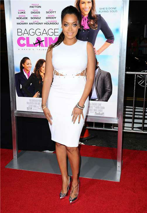 La La Anthony appears at the Los Angeles, California premiere of &#39;Baggage Claim&#39; on Sept. 25, 2013. <span class=meta>(Sara De Boer &#47; Startraksphoto.com)</span>