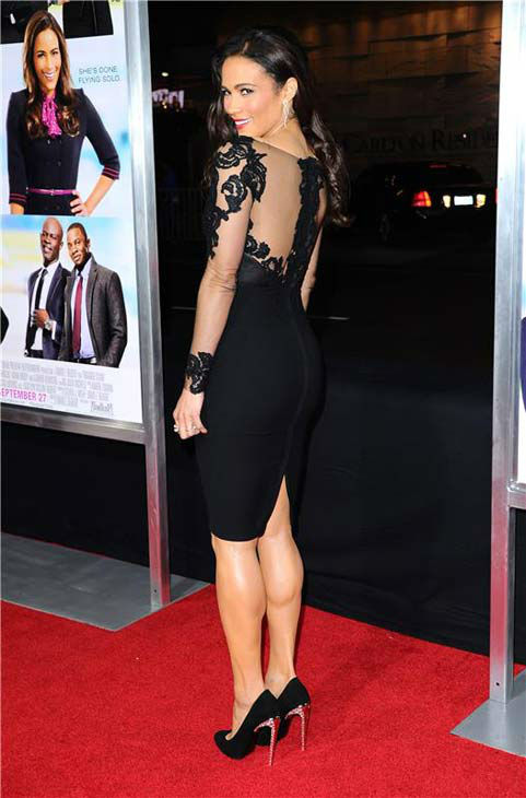 Paula Patton appears at the Los Angeles, California premiere of &#39;Baggage Claim&#39; on Sept. 25, 2013. <span class=meta>(Sara De Boer &#47; Startraksphoto.com)</span>