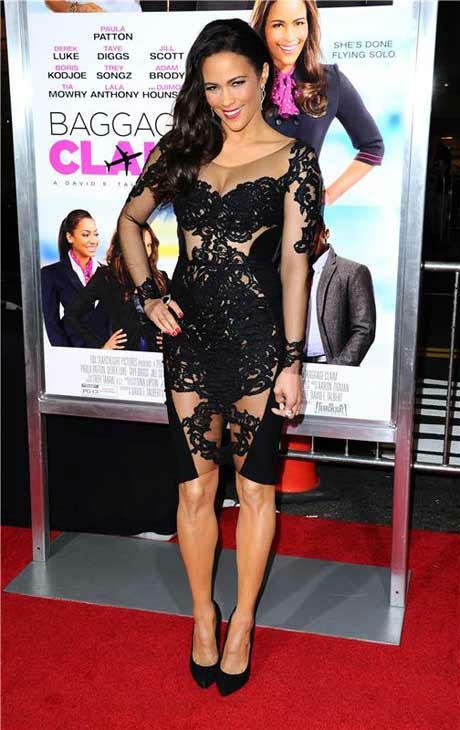 Paula Patton appears at the Los Angeles, California premiere of &#39;Baggage Claim&#39; on Sept. 25, 2013. <span class=meta>(Sara De Boer &#47; Startraksphoto.com)</span>