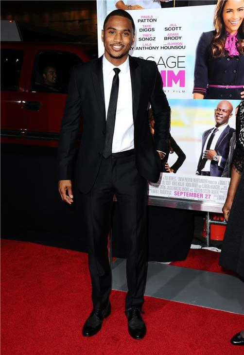 Trey Songz appears at the Los Angeles, California premiere of &#39;Baggage Claim&#39; on Sept. 25, 2013. <span class=meta>(Sara De Boer &#47; Startraksphoto.com)</span>