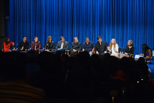 The cast of &#39;Castle&#39; appears event at the Paley Center in Los Angeles, California on Sept. 30, 2013. <span class=meta>(Kevin Parry for Paley Center)</span>