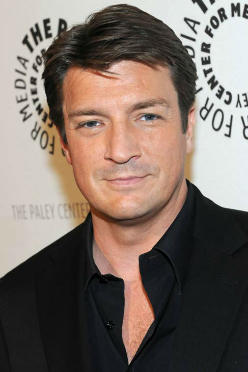 Nathan Fillion appears at a &#39;Castle&#39; event at the Paley Center in Los Angeles, California on Sept. 30, 2013. <span class=meta>(Kevin Parry for Paley Center)</span>