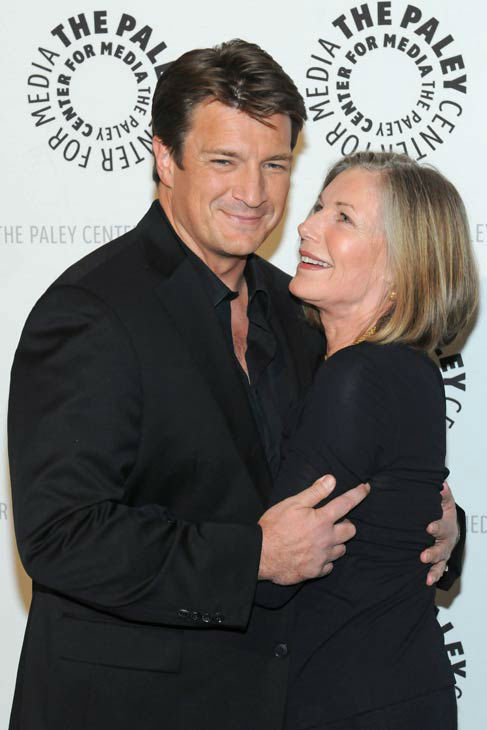Nathan Fillion and Susan Sullivan appear at a &#39;Castle&#39; event at the Paley Center in Los Angeles, California on Sept. 30, 2013. <span class=meta>(Kevin Parry for Paley Center)</span>