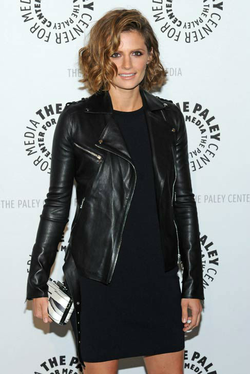 Stana Katic appears at a 'Castle' event at the Paley Center in Los Angeles, California on Sept. 30, 2013.