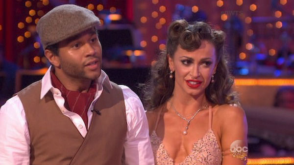 "<div class=""meta ""><span class=""caption-text "">Corbin Bleu and Karina Smirnoff danced the Quickstep on week three of 'Dancing With The Stars' on Sept. 30, 2013. They received 26 out of 30 points from the judges. (ABC)</span></div>"