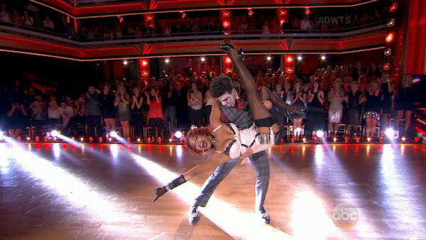 "<div class=""meta ""><span class=""caption-text "">Christina Milian and Mark Ballas dance the Charleston on week three of 'Dancing With The Stars' on Sept. 30, 2013. They received 26 out of 30 points from the judges. (ABC)</span></div>"