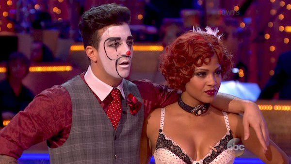 Christina Milian and Mark Ballas danced the Charleston on week three of &#39;Dancing With The Stars&#39; on Sept. 30, 2013. They received 26 out of 30 points from the judges. <span class=meta>(ABC)</span>