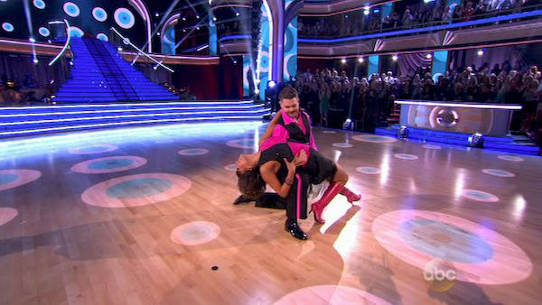 "<div class=""meta ""><span class=""caption-text "">Jack Osbourne and Cheryl Burke dance the Cha Cha Cha on week three of 'Dancing With The Stars' on Sept. 30, 2013. They received 22 out of 30 points from the judges. (ABC)</span></div>"