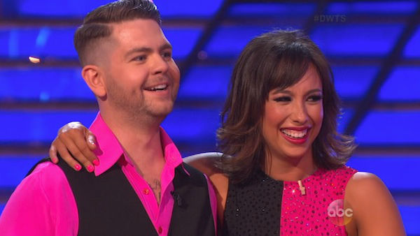 "<div class=""meta ""><span class=""caption-text "">Jack Osbourne and Cheryl Burke danced the Cha Cha Cha on week three of 'Dancing With The Stars' on Sept. 30, 2013. They received 22 out of 30 points from the judges. (ABC)</span></div>"