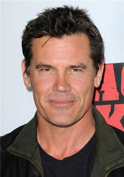Josh Brolin appears at the 'Machete Kills' premiere in Los Angeles, California on Oct. 2, 2013.